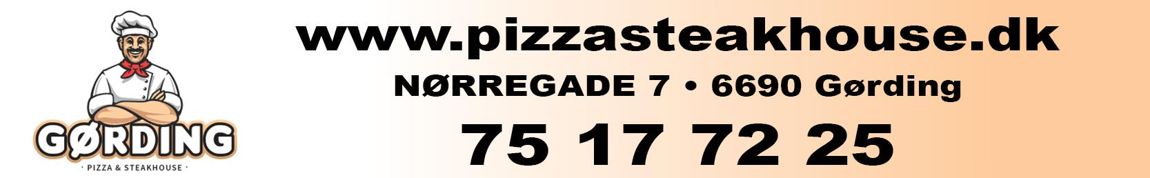 Reference - Gørding Pizza & Steakhouse